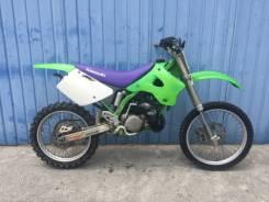Kawasaki KX 125. 125куб. см., исправен, без птс, без пробега