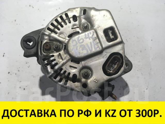 Генератор. Toyota Passo, QNC10 Toyota bB, QNC20, QNC25 Двигатель K3VE