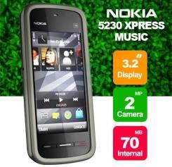 Nokia 5230. Новый, Черный