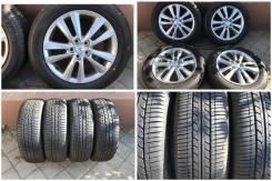 """195/60R16 Bridgestone лето без износа с темными дисками toyota wish. 6.0x16"""" 5x100.00 ET45 ЦО 54,1мм."""
