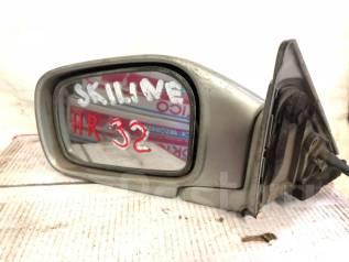 Зеркало заднего вида боковое. Nissan Skyline, HR32