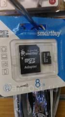 MicroSD. 8Гб, интерфейс MicroSD
