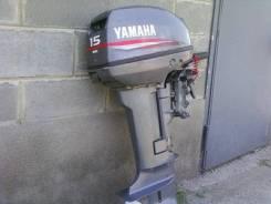Yamaha. 15,00л.с., 2-тактный, бензиновый, нога S (381 мм), 2014 год год. Под заказ