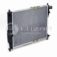 Радиатор двигателя Chevrolet Lanos (02-) LRc0563b