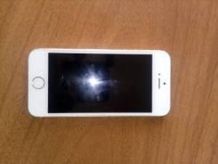 Apple iPhone 5s. Б/у, Белый, 4G LTE