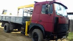 МАЗ 53366. Продается грузовик с манипулятором МАЗ-53366, 10 000кг.