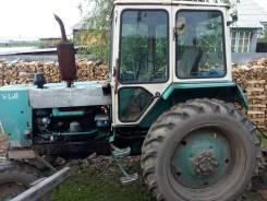 ЮМЗ. Трактор + телега, культиватор