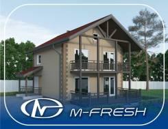 M-fresh Panama Plus! (Доработанный проект с дополнительной комнатой! ). 100-200 кв. м., 2 этажа, 4 комнаты, бетон