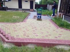 Брусчатку укладываем , тротуарную плитку , бетонирование площадок .