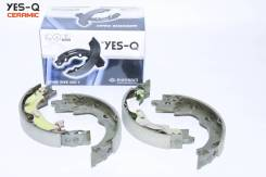 Колодки тормозные барабанные ручного тормоза YES-Q Ceramic ESA9065