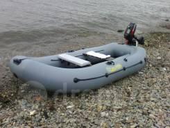 Адмирал. 2014 год год, длина 3,00м., двигатель без двигателя, 3,50л.с., бензин