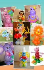 Фигуры из воздушных шаров. Под заказ