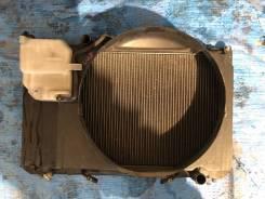 Радиатор охлаждения двигателя. Toyota Mark II, GX100 Двигатель 1GFE