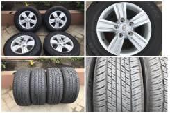 """285/60R18 Dunlop at23 лето 95% - 16 г. С литьем toyota TLC200 оригинал. 8.0x18"""" 5x150.00 ET60 ЦО 110,0мм."""