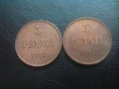 5 pennia 1913-1914 г
