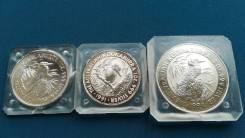 Австралия набор из 3 монет, Кукабарра.