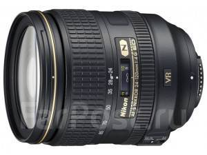 Объектив Nikon Nikkor AF-S 24-120 mm F/4 G ED VR. Для Nikon