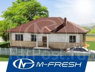 M-fresh Alex breeze-зеркальный /Покупайте сейчас проект со скидкой 20%. 100-200 кв. м., 1 этаж, 5 комнат, бетон