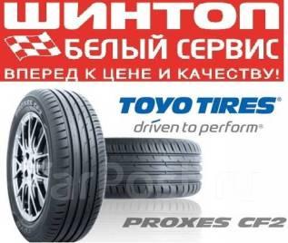 Toyo Proxes CF2. Летние, 2018 год, без износа, 2 шт