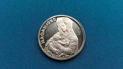 Андорра 20 динер 1985 г.
