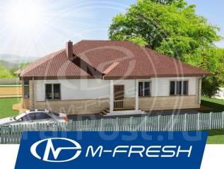 M-fresh Alex breeze (проект 1-этажного дома). 100-200 кв. м., 1 этаж, 5 комнат, бетон