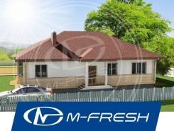 M-fresh Alex breeze (Проект 1-этажного дома с 5 комнатами! ). 100-200 кв. м., 1 этаж, 5 комнат, бетон