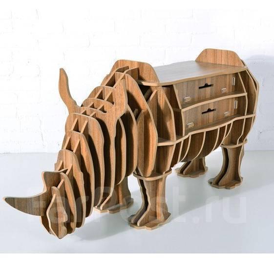 Мебель в виде животных