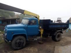 ГАЗ 53. Продам манипулятор самосвал Газ 53, 3 000кг., 6x2