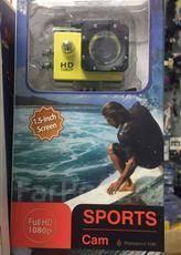 Экшн камера Sports Full HD 1080. 10 - 14.9 Мп