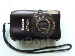 Canon Digital IXUS 980 IS. 10 - 14.9 Мп, зум: 4х