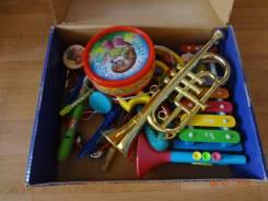Наборы музыкальных инструментов.