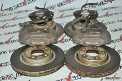 Рабочая тормозная система. Nissan Skyline, BNR32, ECR33, ER33, ER34, HCR32, HNR32, ENR33, HR33 Nissan 300ZX, Z32 Двигатели: RB20DET, RB25DE, RB25DET...
