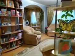 3-комнатная, улица Адмирала Кузнецова 92. 64, 71 микрорайоны, агентство, 67кв.м. Интерьер