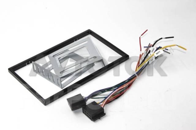 Универсальная магнитола 2DIN (178х100мм) с рамкой Windows CE DIN-15