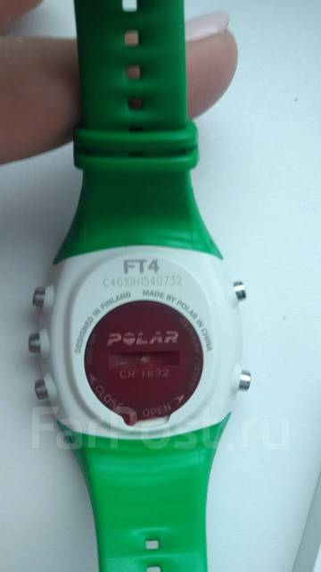 Пульсометр Polar FT4 green