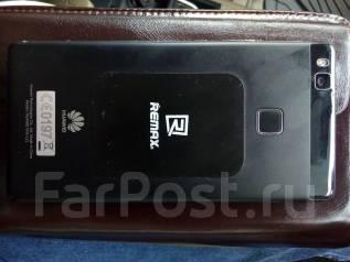 Huawei P9 lite. Б/у, 16 Гб, Черный, 4G LTE