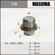 Болт (пробка) маслосливной Masuma без магнита