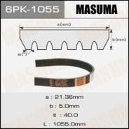 Ремень ручейковый MASUMA 6PK-1055