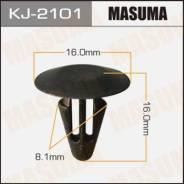Клипса автомобильная (автокрепеж) MASUMA 2101-KJ [уп.50]