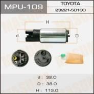 Насос топливный Masuma 100L/h, 3kg/cm2 сетка MPU-040