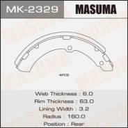 Колодки тормозные барабанные Masuma