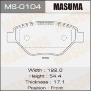 Колодки дисковые MASUMA RENAULT/MEGANE II/V1400 front (1/12)