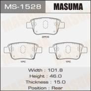 Колодки тормозные дисковые Masuma