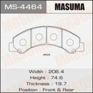 Колодки дисковые MASUMA HINO 300 (1/6)