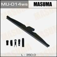 Щетка стеклоочистителя Masuma 14inch 350mm зимняя Optimum крепление J-hook, Pinch tab, Side pin, Slim top, Push button 16mm, Bayonet, Pin