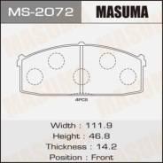 """Колодки дисковые """"Masuma"""" AN-088K (1/12)"""