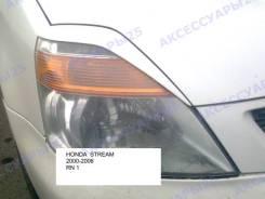 Накладка на фару. Honda Stream, RN1, RN2, RN3, RN4, RN5. Под заказ