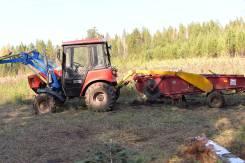 МТЗ 320.4. Трактор 4х4 +навесное для выращивания картошки, фронтальник, 36 л.с.