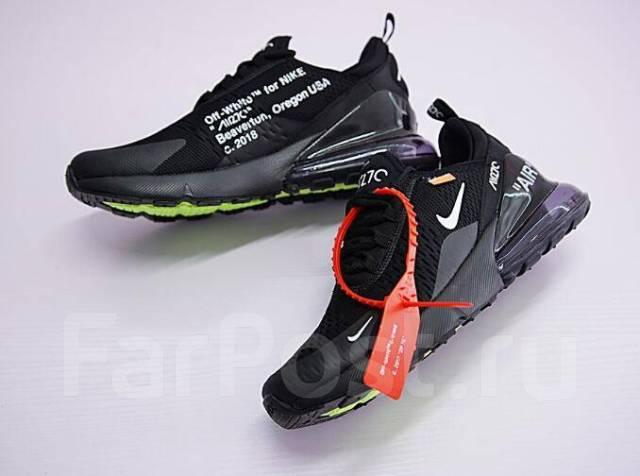 0d7942b86a22 Кроссовки Off-White x Nike Air Max 270 Black - Обувь во Владивостоке