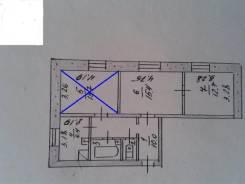 2-комнатная, улица Каширская 26/1. частное лицо, 61кв.м.